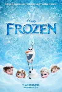 Frozen Promotional Poster